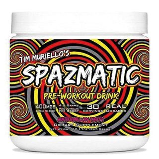 Bester Booster 2020 Tim Muriello Spazmatic Pre-Workout